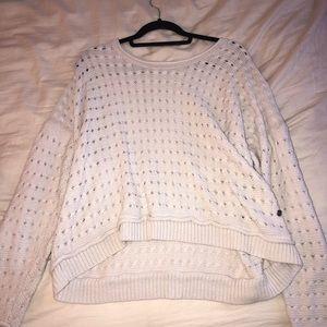 Roxy pink oversized sweater
